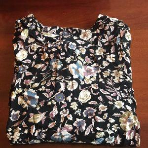 🌻Kimchi Blue floral blouse